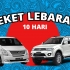 Rent Car Paket Lebaran